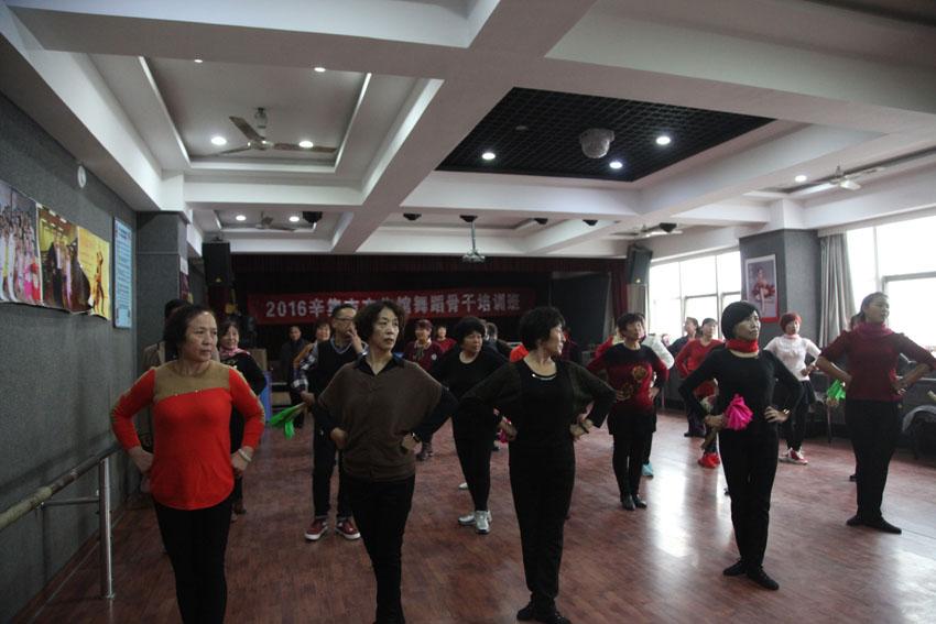 辛集市文广新局舞蹈骨干培训班照片